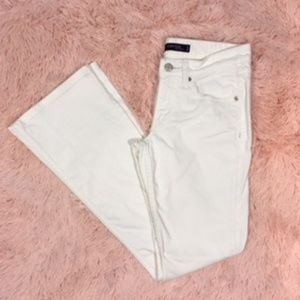 Levi's SuperLow 518 White Jeans Size 3M